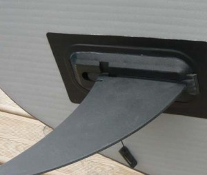ailerons sup gonflable glissères