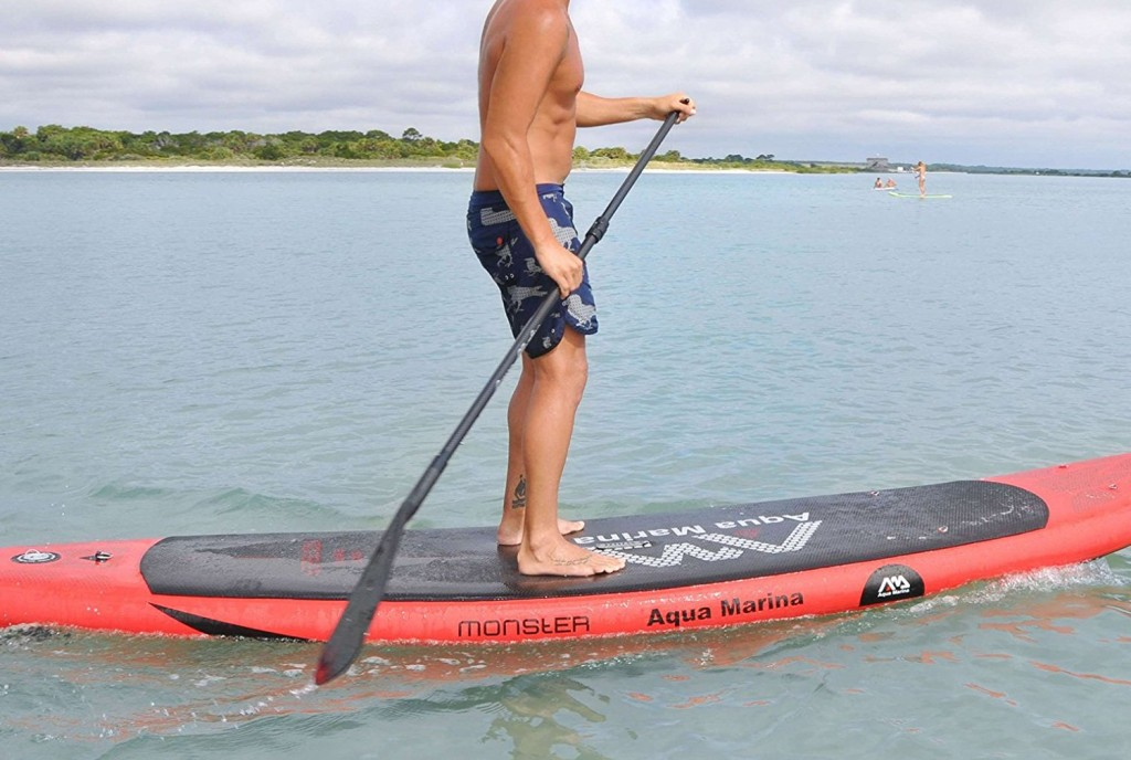test aquamarina monster sup gonflable