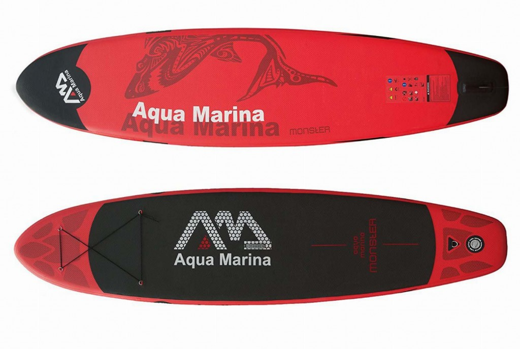 stand up paddle gonflable aquamarina monster