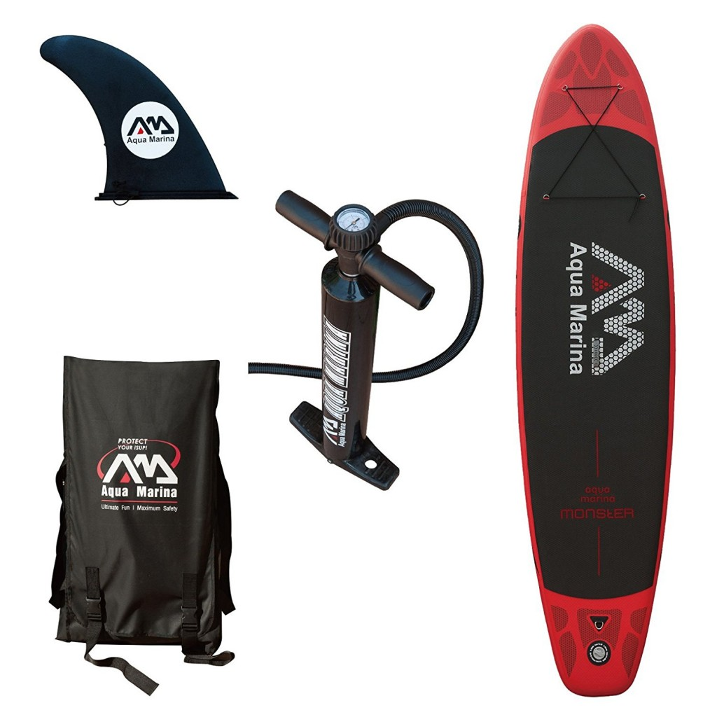 kit sup gonflable aquamarina monster