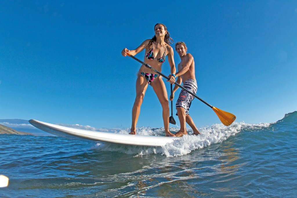 stand up paddle en duo
