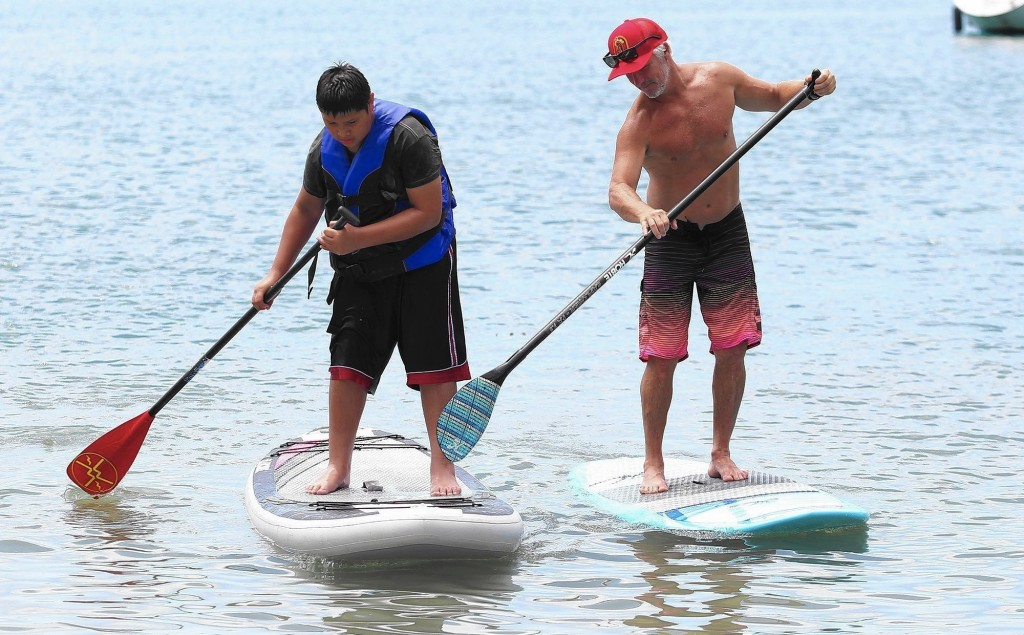 gros gabarits stand up paddle