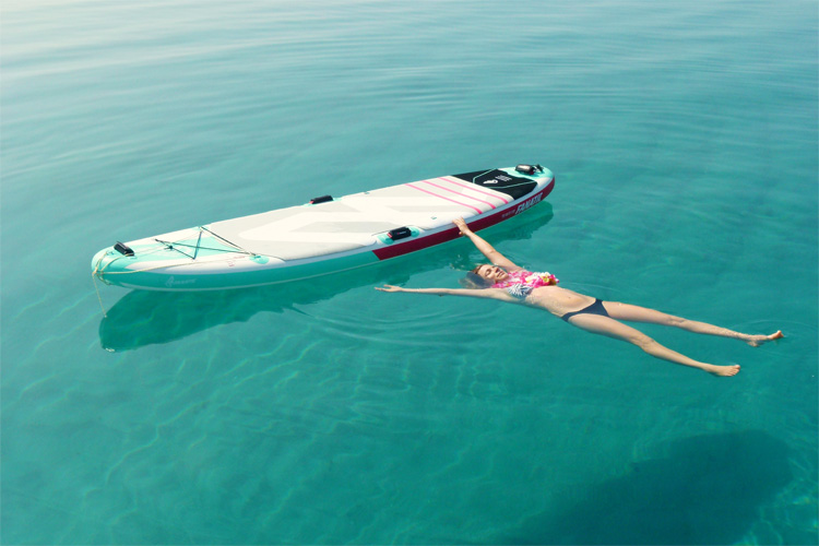 stand up paddle mental relaxation
