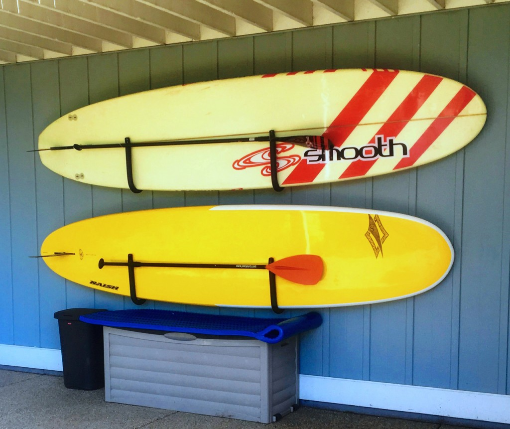 stockage sup planche
